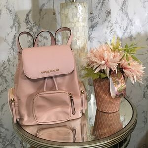 💕💕New💕💕Blush pink Michael Kors backpack